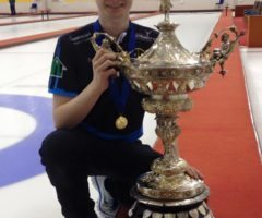 Scottish Junior Winner Bruce Mouat